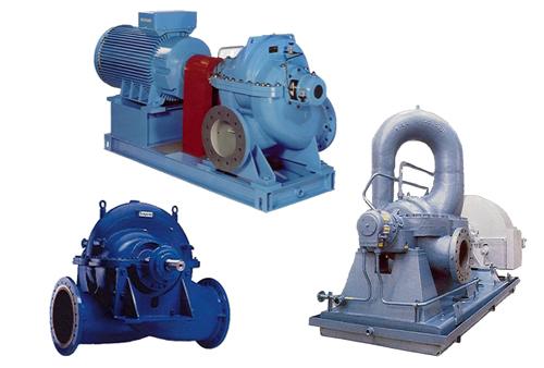 Pompes-centrifuges-de-surface-Type-à-plan-de-joint