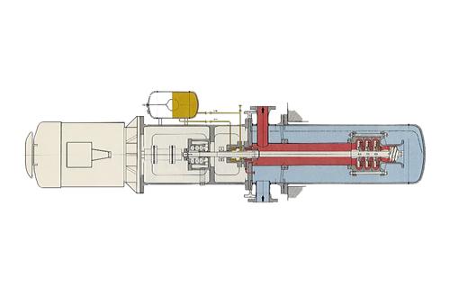 Pompes-centrifuges-semi-immergées-Type-à-barrel